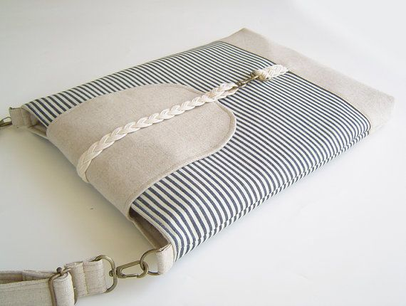 15 inch  MacBook or Laptop Braid flap sleeve with by BagyBag, $45.70
