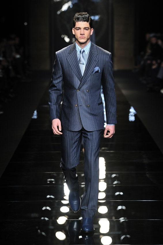 Versace Men 2015 Spring Summer: #Suit - Versace Men's Fall Winter 2012