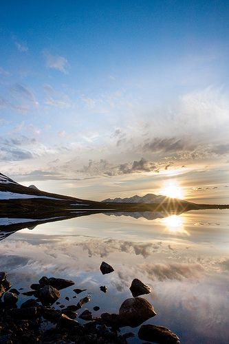 Lake Sarekjauratj, Sarek National Park, Sweden by Johan Assarsson