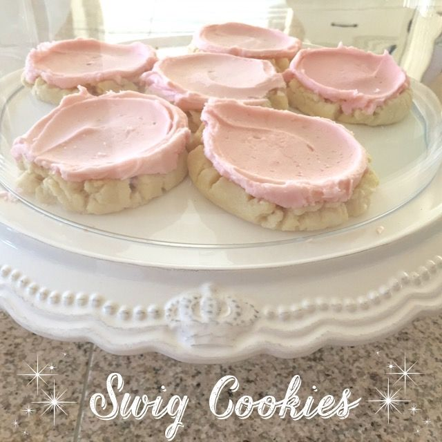 Knock-off Swig Cookie Recipe BEST sugar cookie recipe on the planet!!! And easiest too!!