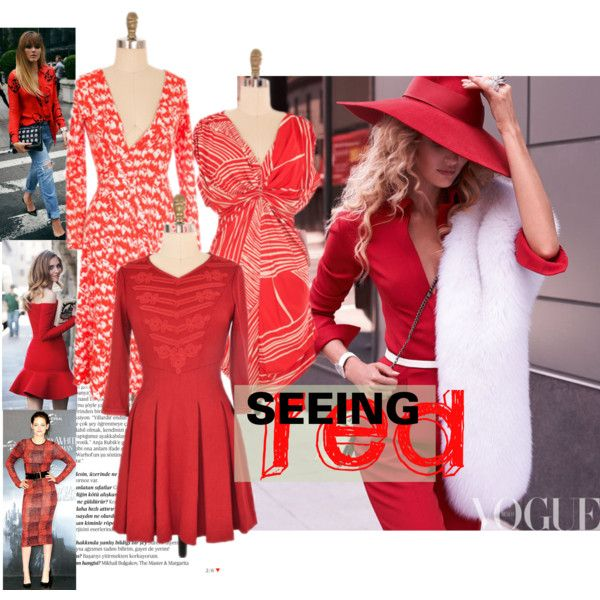"""""""Seeing Red - featuring Shop For A Cause pieces"""" by closetdash on Polyvore  http://www.closetdashshop.com/collections/shop-for-a-cause-bottomless-closet  #red #dresses #fashion #style"""