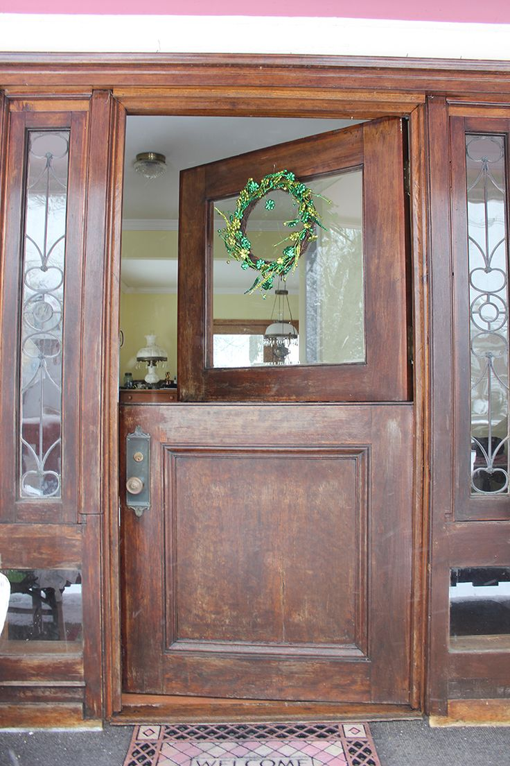 Beautiful Dutch Door - Victorian Home Tour