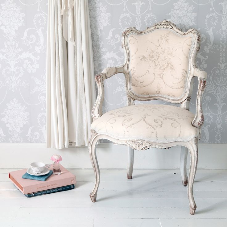 Delphine French Armchair Chairs & Armchairs Seating French Bedroom Company