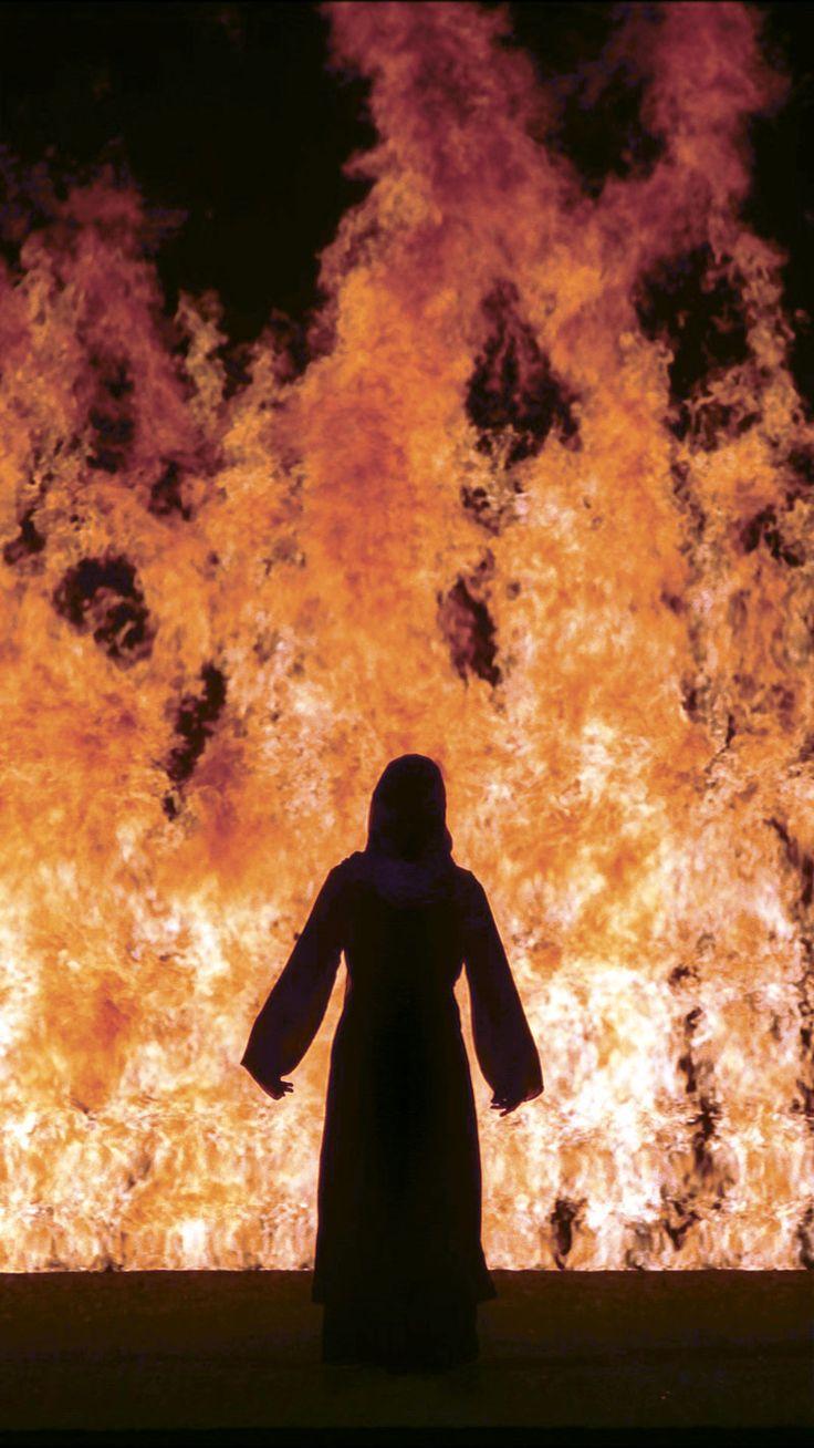 Bill Viola. Fire Woman, 2005