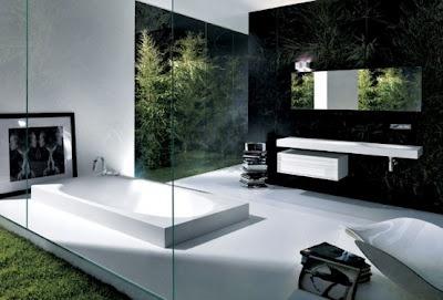 Fotos de baños espectaculares.