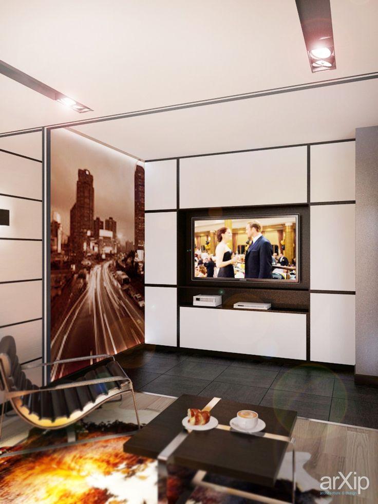 Гостиная в современном стиле в Ялте от Vitta-group: интерьер, квартира, дом, гостиная, минимализм, 50 - 80 м2 #interiordesign #apartment #house #livingroom #lounge #drawingroom #parlor #salon #keepingroom #sittingroom #receptionroom #parlour #minimalism #50_80m2 arXip.com