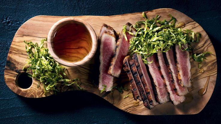 Cette recette de tataki de thon estival est présentée dans l'émission BBQ non-stop avec Hugo Girard!