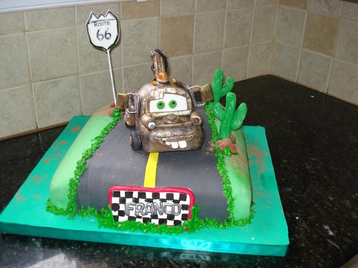 Torta de Tow Mater