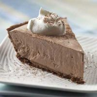 Chocolate Cream Cheese Pie Recipe (Cal 180,, total fat 8g, protein 4g, carb 22g, fiber 1 g, sodium 285 mg)