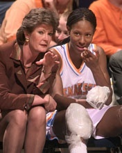 Pat Summit the best women's coach ever! Chamique Holdsclaw will forever be my favorite women's basketball. player!