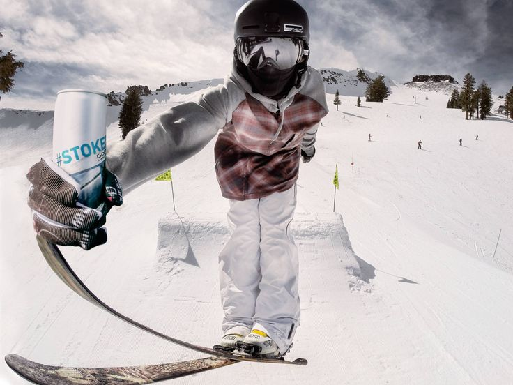 GoPro #Stoked Energy Drink #GoPro