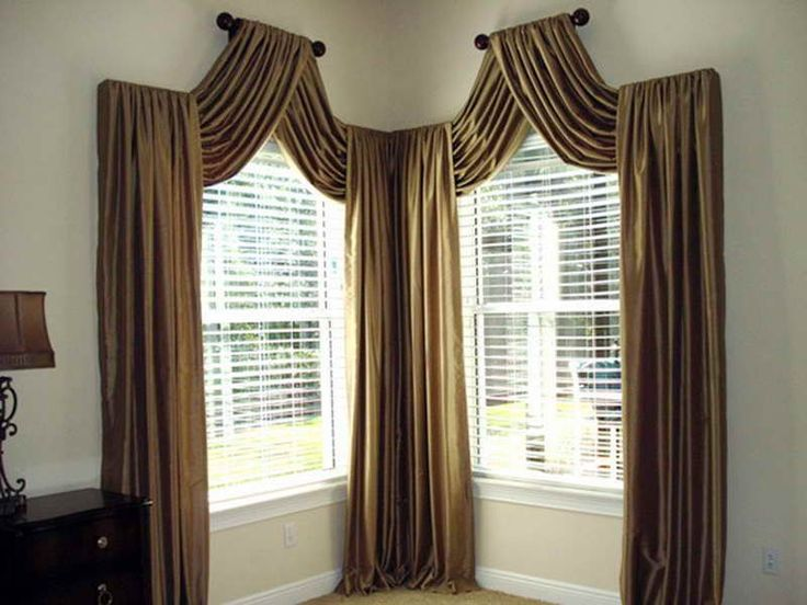Door WindowsPicture Window Treatment With Beautiful Curtain Picture As The Solution