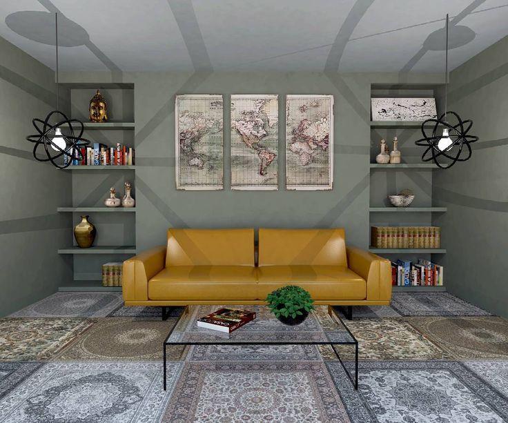 "Polubienia: 26, komentarze: 1 – Manufaktura Dizajnu (@manufakturadizajnu) na Instagramie: ""Amazing tiles #interior #interiordesign #interior444 #interior123 #aparici #tiles #home #apartment…"""