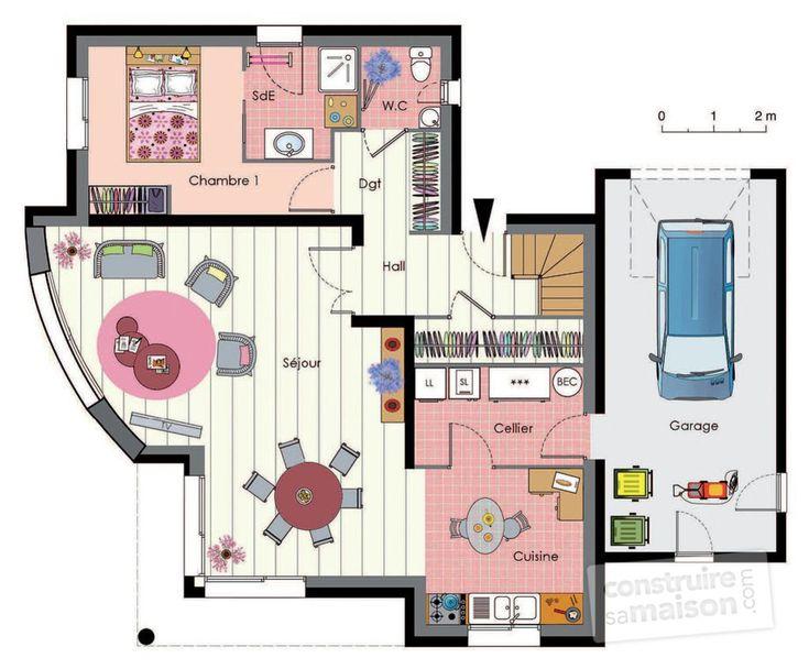 358 best maison en bois images on pinterest modern house design modern houses and building homes. Black Bedroom Furniture Sets. Home Design Ideas