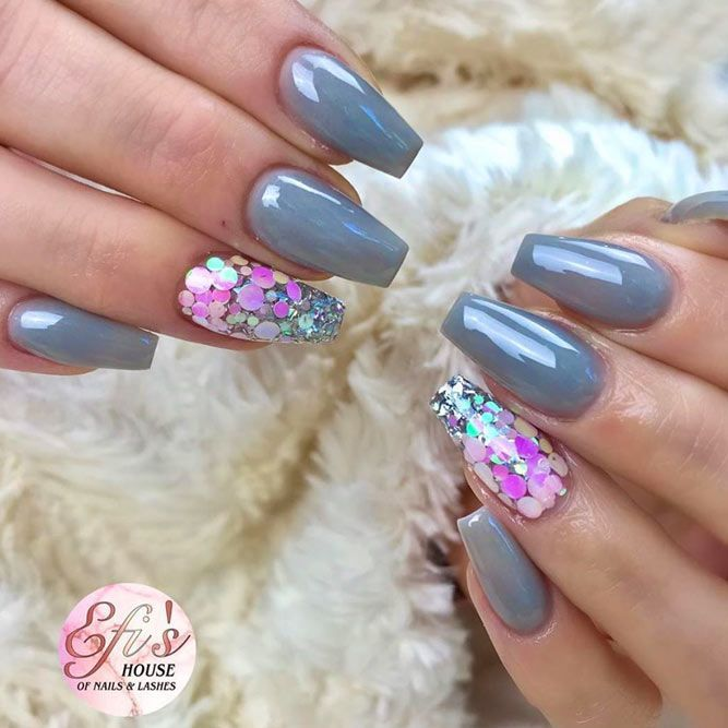 40 Trendy Short Coffin Nails Design Ideas Naildesignsjournal Com In 2020 Summer Gel Nails Nail Designs Fall Nail Designs