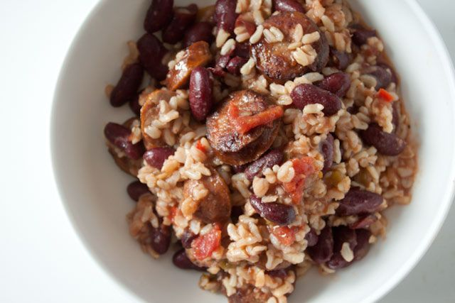 The last time I supped on red beans and rice, I was on Bourbon Street in New Orleans. As I recall, it was just after slurping down two hurricanes, inhaling a plate of beignets at Cafe Du Monde, and finding the oily crumbs from a long ago eaten fried shrimp po' boy in my hair....Read More