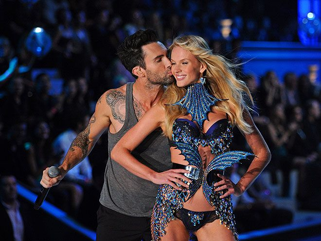 locked her down real quick: Hot Couple, Adam Levine, Celebrity Couple, Secret Angel, Cutest Things, Vs Fashion Shows, Beautiful People, Pretty People, Victoria Secret Fashion