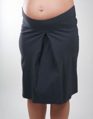 @Ripe Maternity Soho Pleat Skirt  #maternity #fashion #pregnancy #style #minefornine