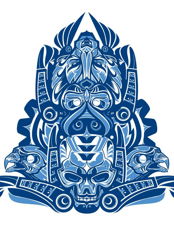 Haida inspired artArt and design inspiration from around the world – CreativeRoots