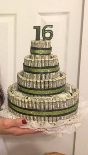Money cake -16th Birthday by Superduper