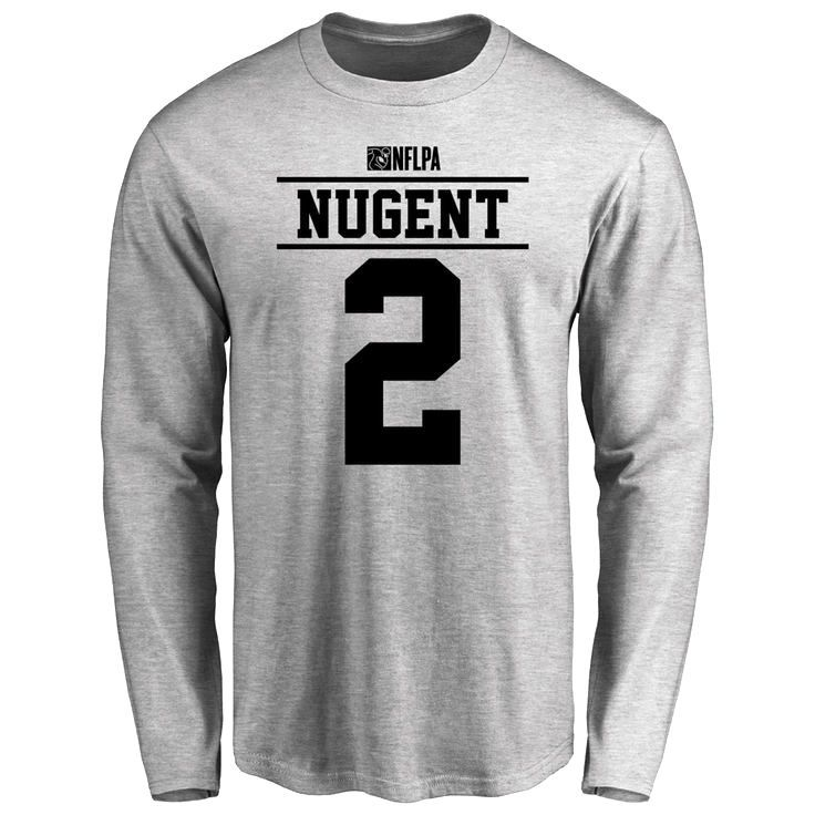 Mike Nugent Player Issued Long Sleeve T-Shirt - Ash - $25.95
