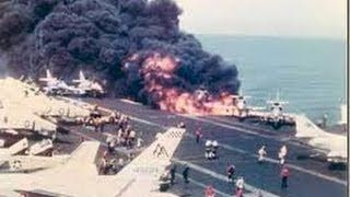 Seconds From Disaster - Aircraft Carrier Explosion