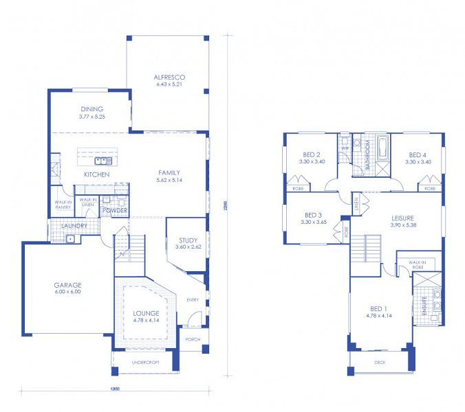The Allegro home design by McCarthy Homes
