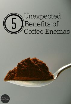 It's no secret that I believe in the amazing benefits of coffee enemas. I've seen firsthand the healing power that coffee enemas have had on my digestive system. I was expecting that. What I wasn't expecting, however, were a few other side benefits.   TodayInDietzville.com