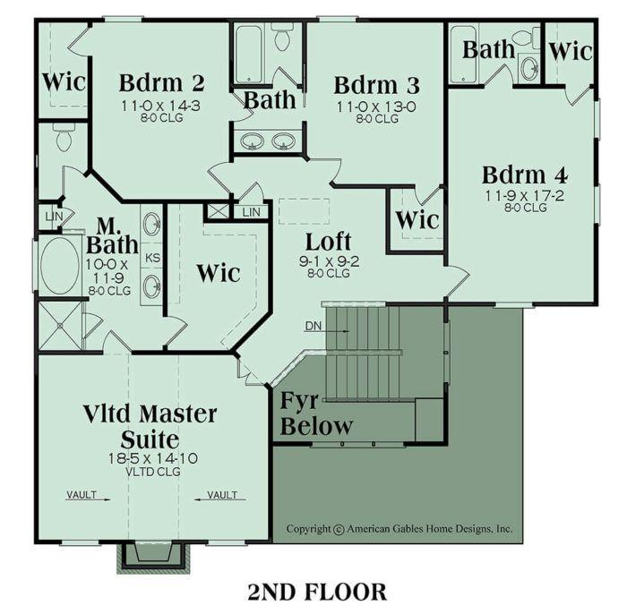Avondale Floor Plans How To Plan House Plans