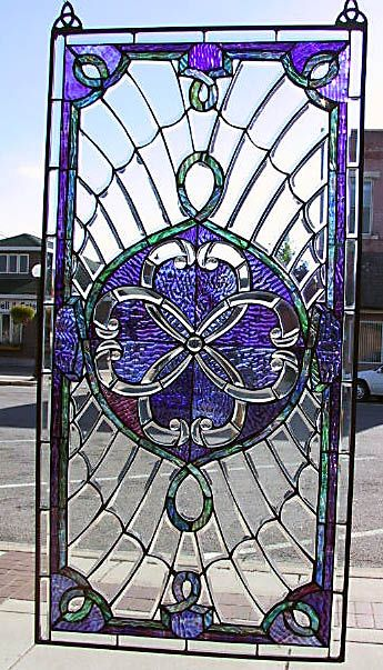 Celtic United Hearts stained glass window.  Lovely