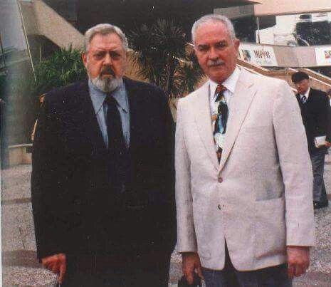Raymond Burr and Robert Benevides