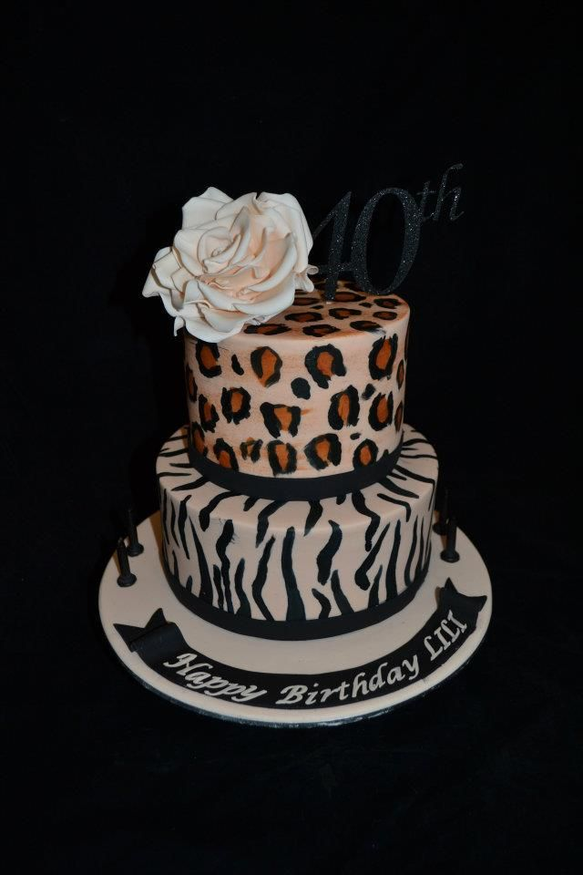 Animal Print Cake Images : ANIMAL PRINT CAKE Cakes & Cupcakes Pinterest