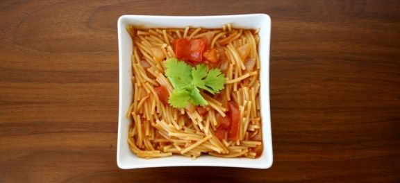 """Here is a quick and easy recipe for the """"sopa"""" my grandma used to make for me. It's a Mexican pasta dish spiced with cumin and it's very, very delicious. It also happens to …"""