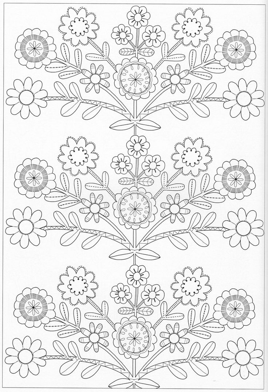 Scandinavian Coloring Book Pg 45