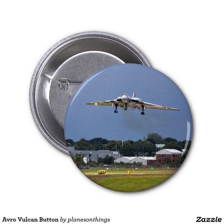 Avro Vulcan Button