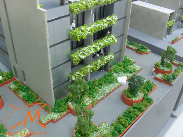 1:75 Landscaping. Architectural Model by Modelcraft (NSW) Pty Ltd
