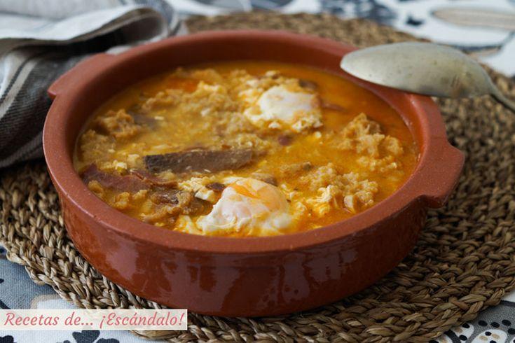 1037 best recetas espa olas spanish recipes recettes - Sopa castellana youtube ...