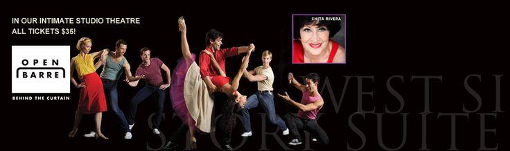 Don't miss Broadway legend Chita Rivera at Open Barre this season!