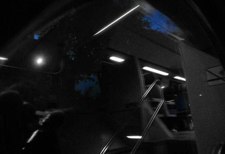 it was a dark night - or wasn't it?!