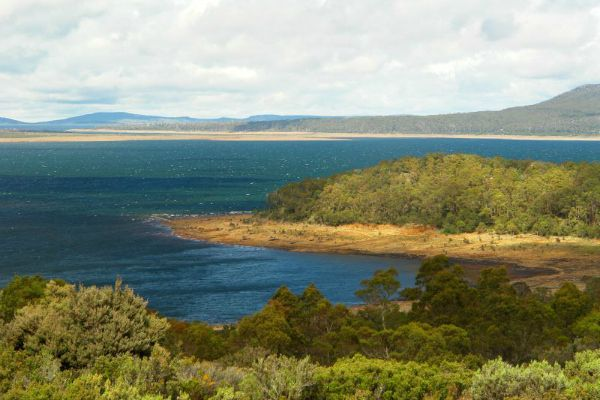 Great Lake in the Central Highlands of Tasmania for Trout #Fishing. Photo by Dan Fellow; article for www.think-tasmania.com