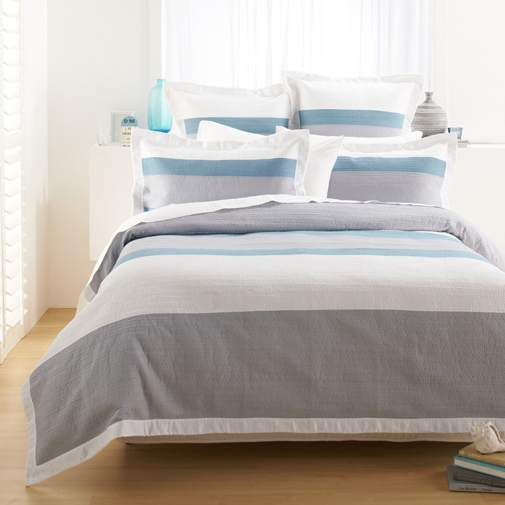Adairs Doona Cover - Home Republic  Louis Panelled
