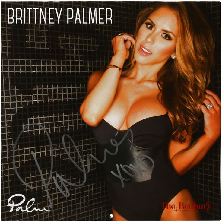 Brittney Palmer UFC Autographed Octagon Girl Wall Calendar - $23.99