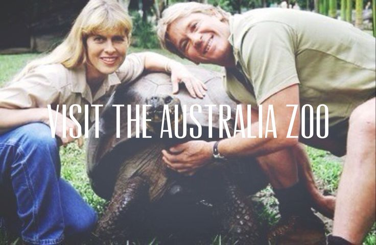 Visit the Australia Zoo. I have alwayyyyysssss wanted to go here. since I was little. A place to go , before I die. A dream. I will go here.