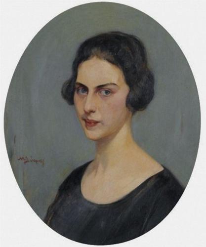 Portrait of a Woman - Nikolaos Lytras