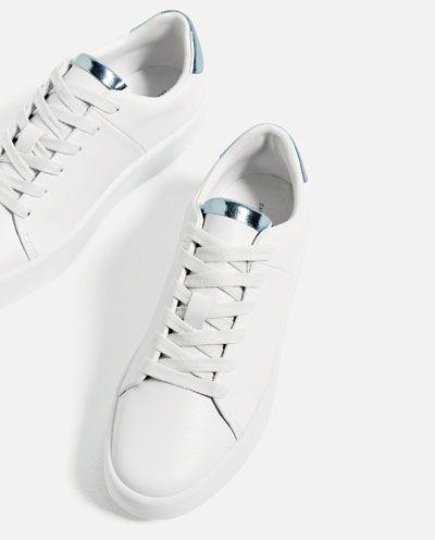 CHUNKY SOLE PLIMSOLLS-Sneakers-SHOES-WOMAN | ZARA Belgium