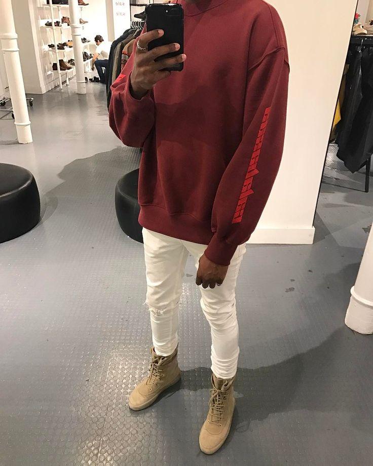 Calabasas Sweatshirt x Yeezy Crepe Boot