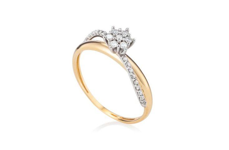 14 alianças de casamento como você nunca viu: cool, moderno, desejo! - GLAMOUR | Moda - Anel de ouro amarelo e diamantes pavê Vivara R$ 2.750, vivara.com.br