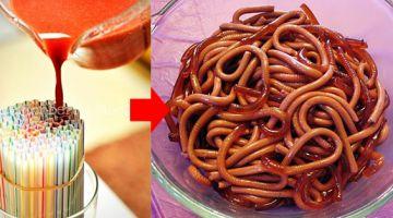 Bezorg familie & vrienden de schrik van hun leven met deze wormen gemaakt van gelatine! Net echt!