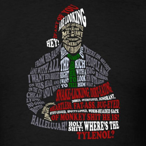 Clark Griswold Holiday Rant Text Art Movie Lampoon