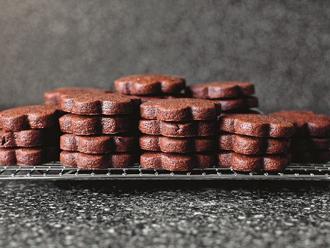 SMITTEN KITCHEN'S BROWNIE ROLL-OUT COOKIES